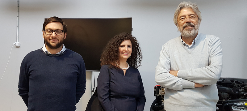 Giulio Sandini, Alessandra Sciutti and Francesco Rea from the Robotics, Brain and Cognitive Sciences unit at IIT, in Genova, Italy.